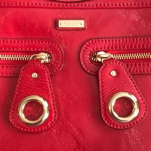 kate spade Bags - Red Patent Leather Kate Spade Bag